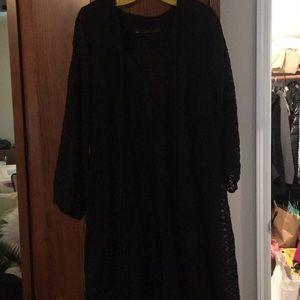 Long sleeve lace dress